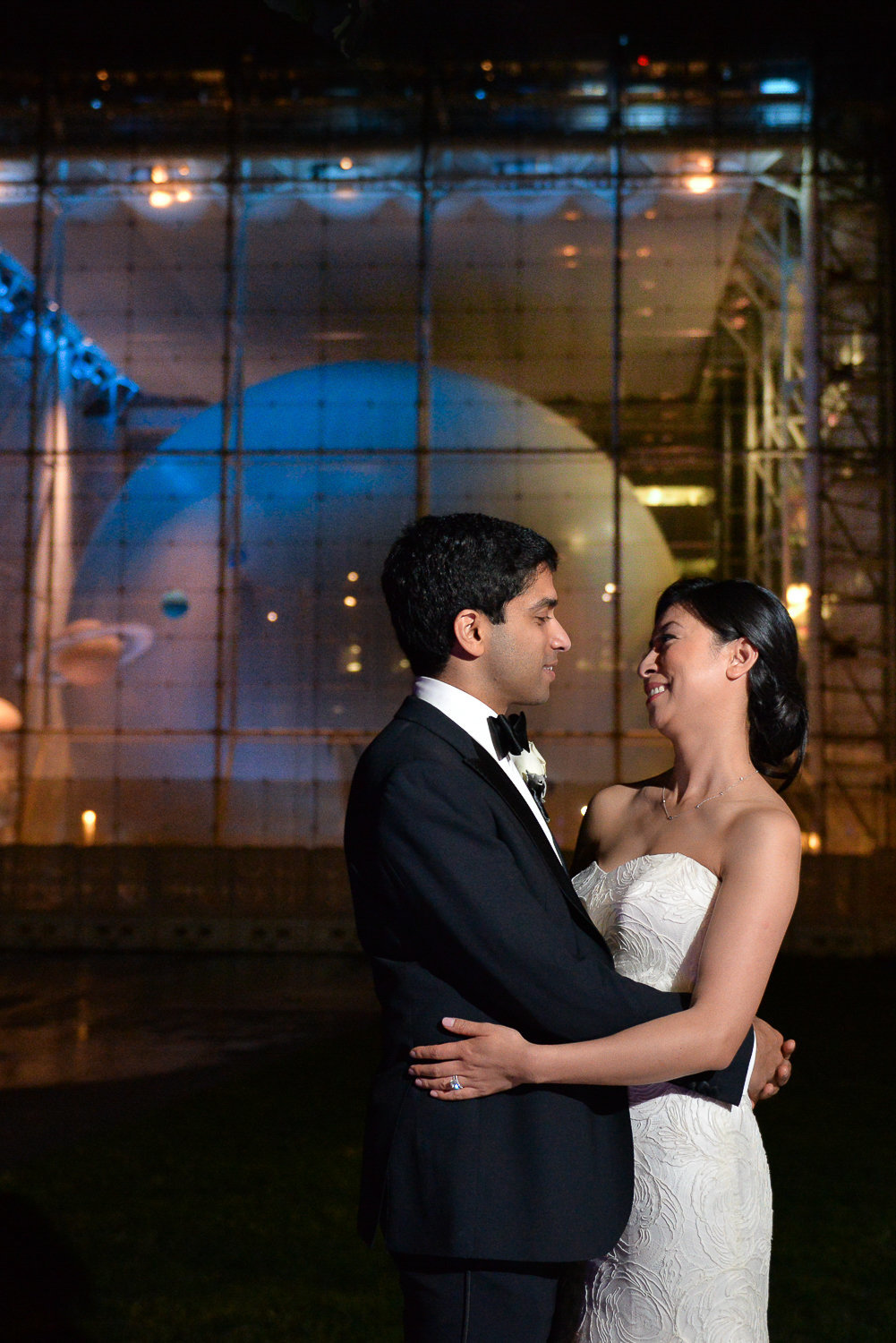 planetarium, nyc wedding photography, artistic, unique, beautiful