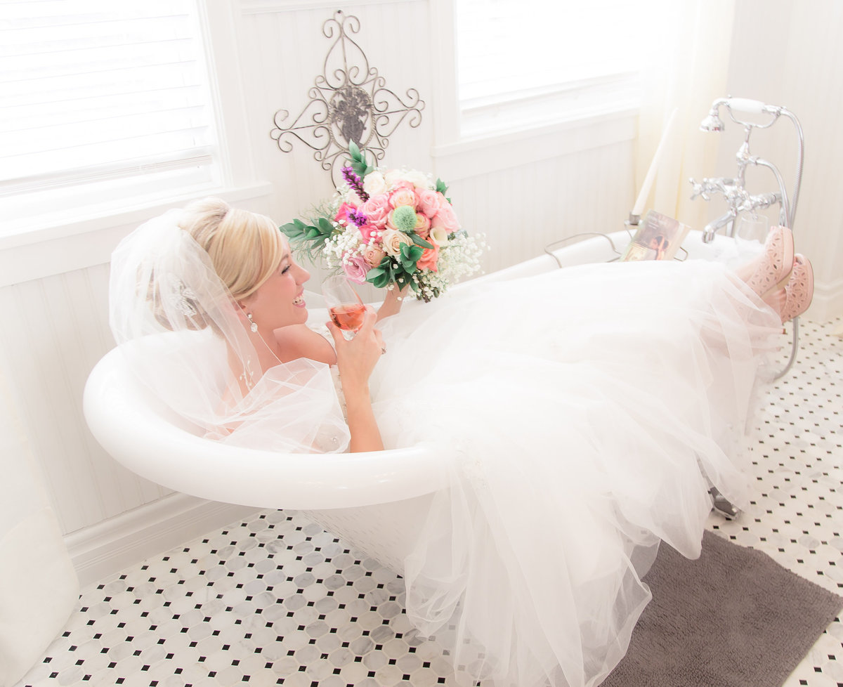 Victoria Blaire Bride in a Bathtub copy