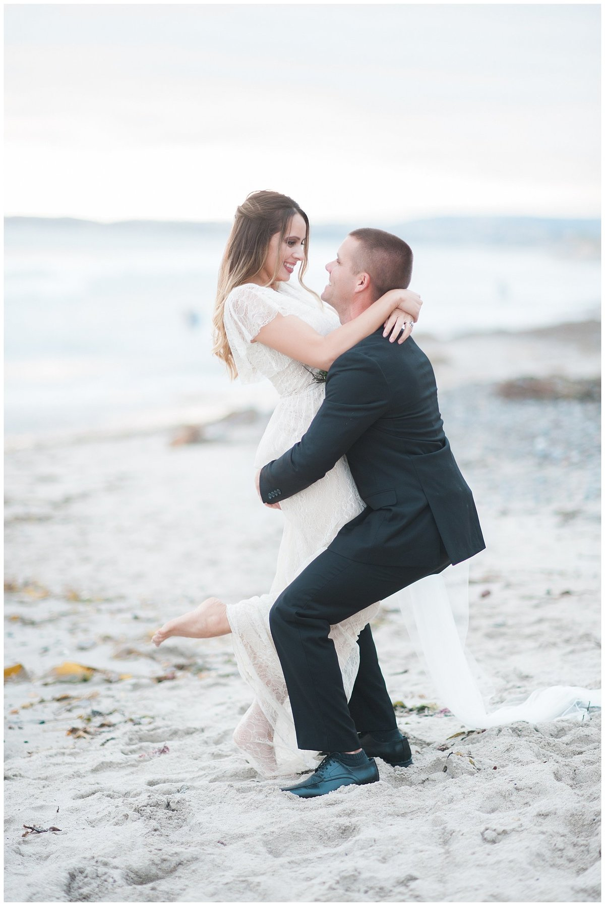 san clemente beach wedding elopement whimsical dreamy soft light socal photo037