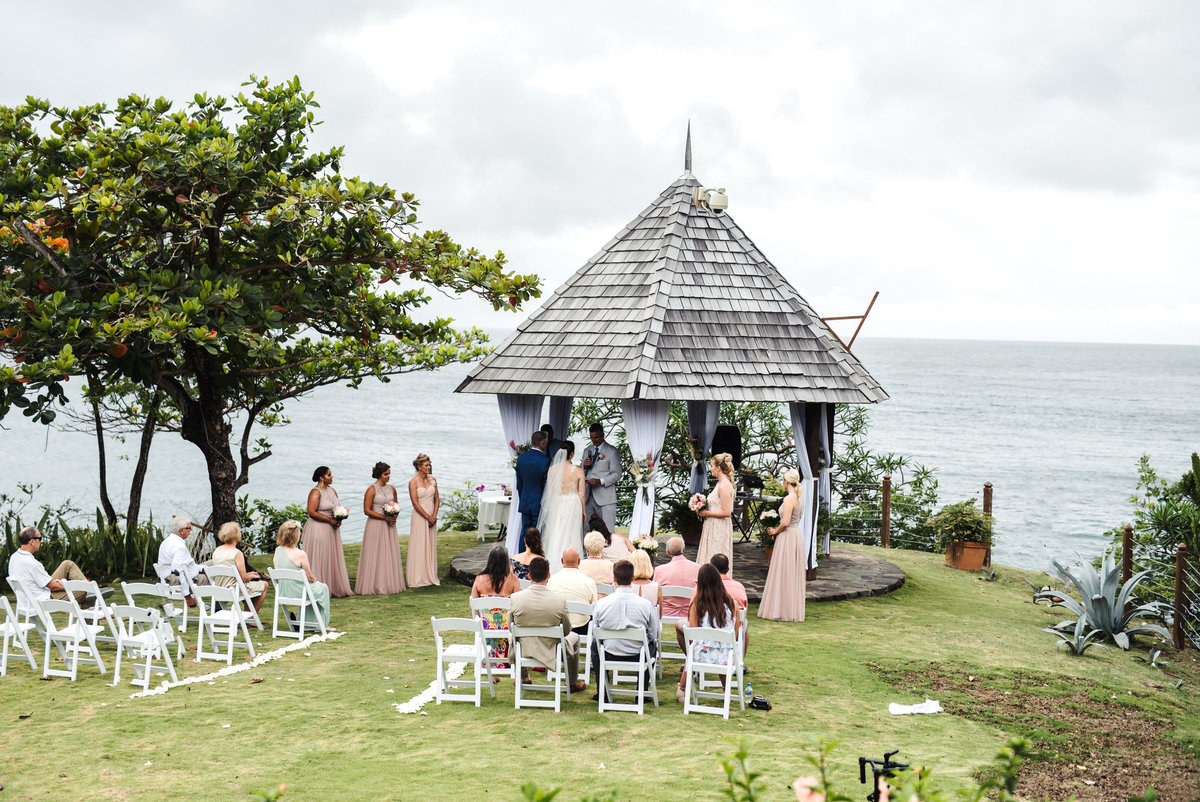 Cap Maison St Lucia Destination Wedding - 117