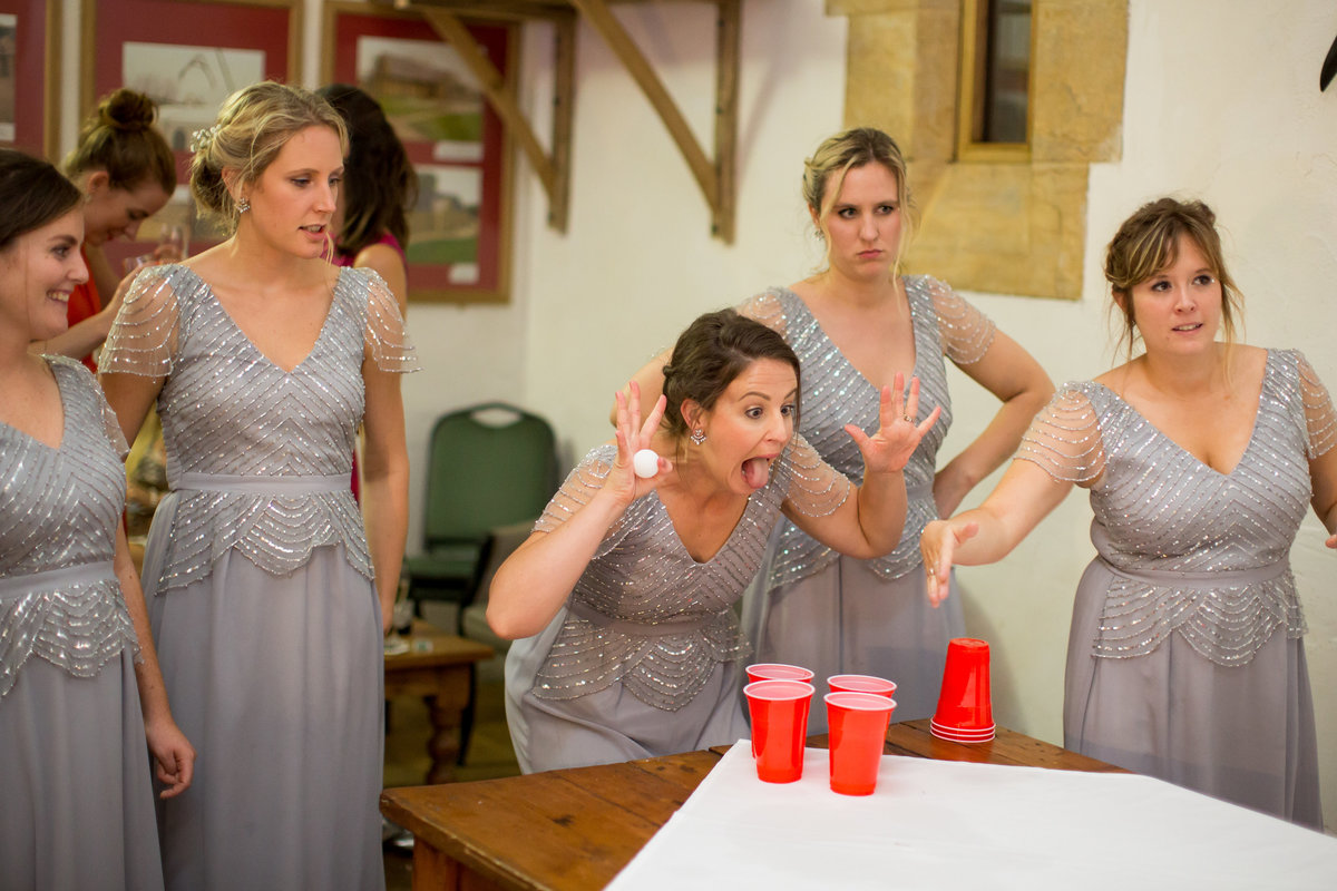 beer pong at haselbury mill