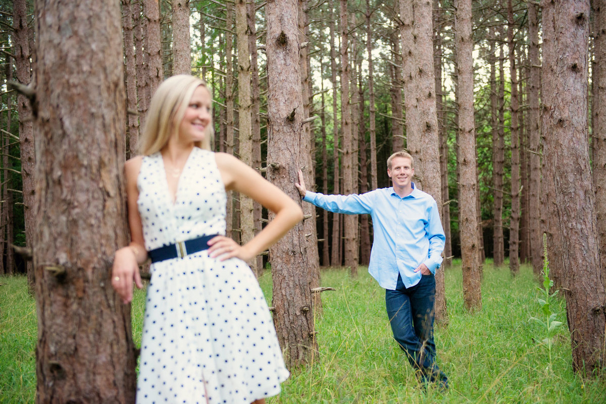 glen arbor michigan engagement portrait photographers
