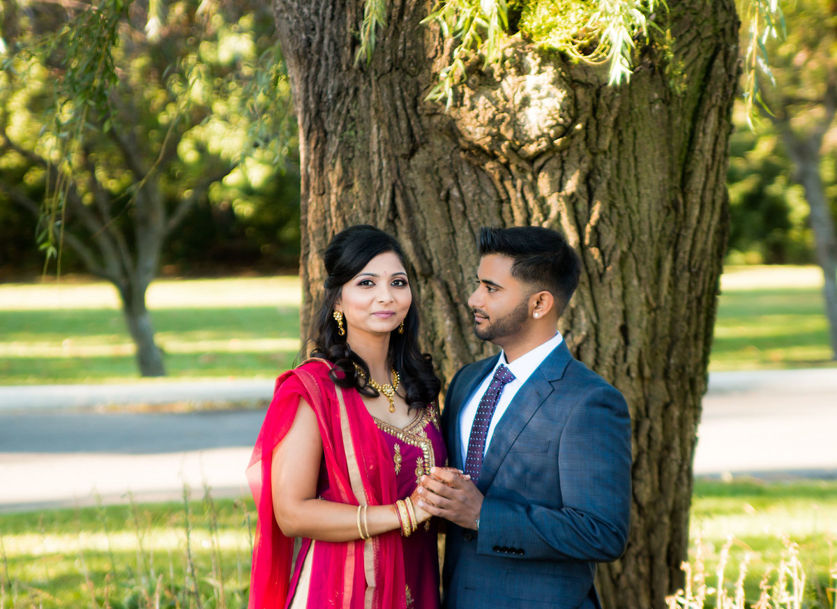 Chinguacousy Park Brampton Engagement Rokha Portraits