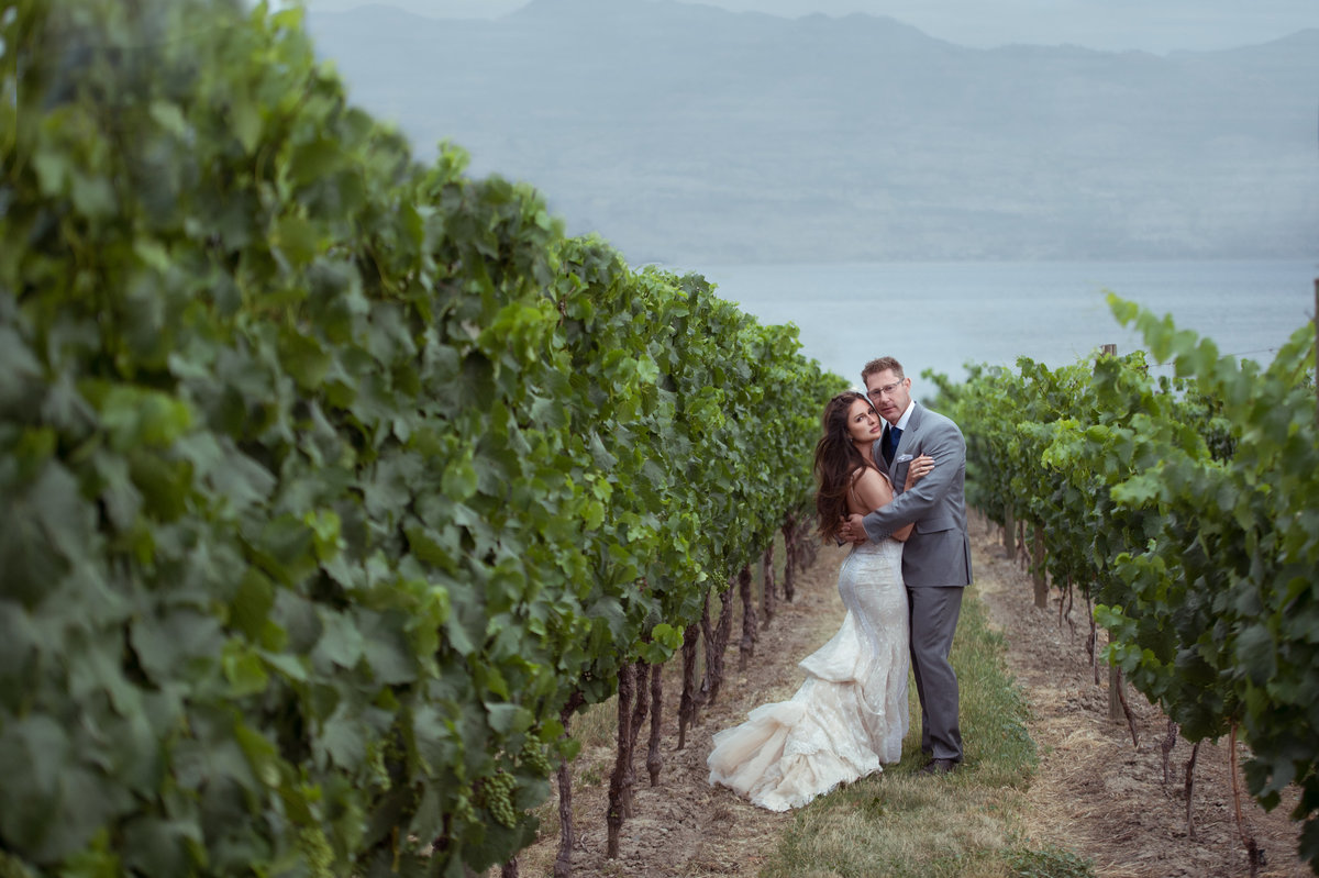 Quails Gate Winery wedding photography