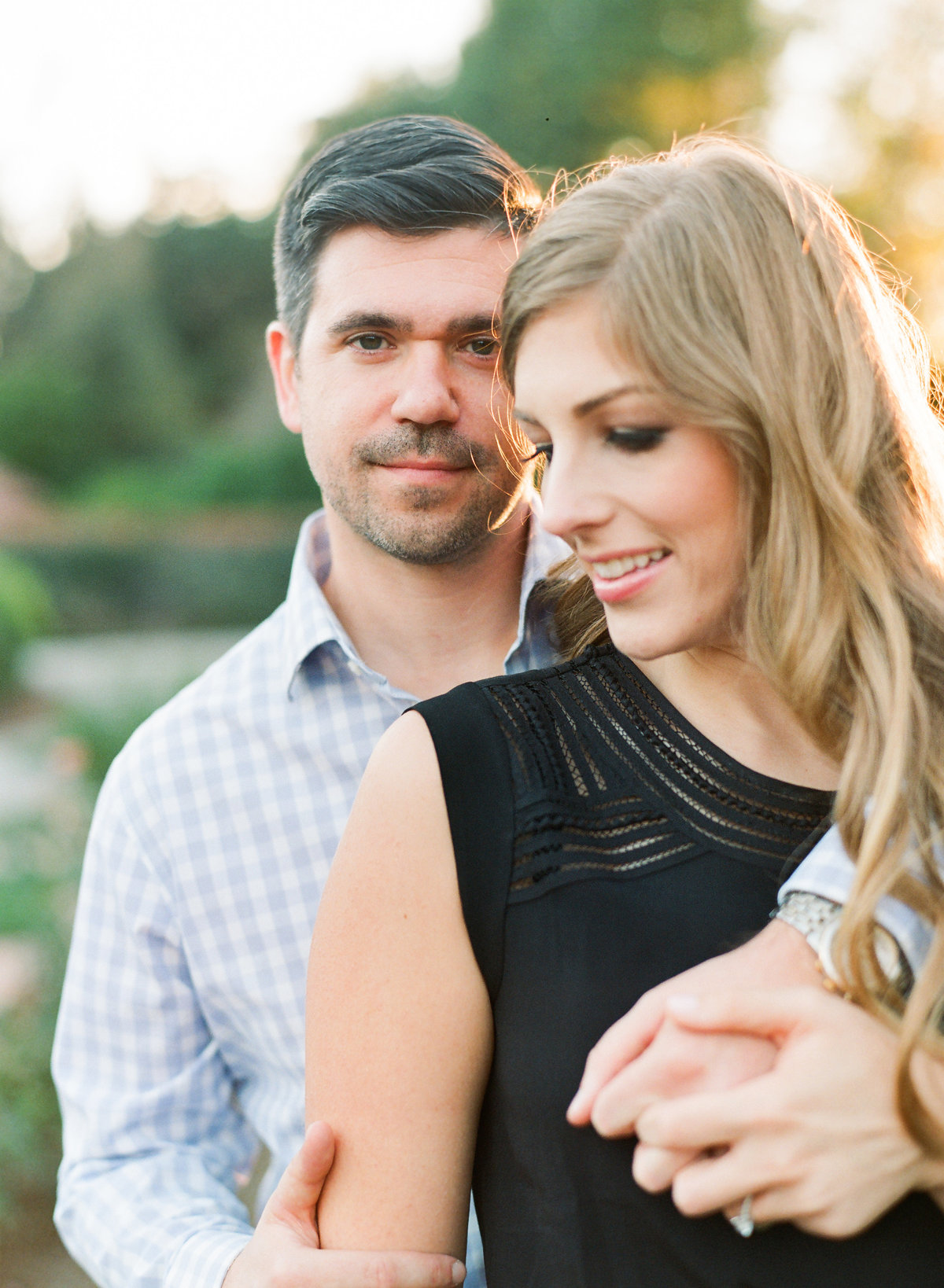 Engagement session at Biltmore Estate in Asheville North Carolina