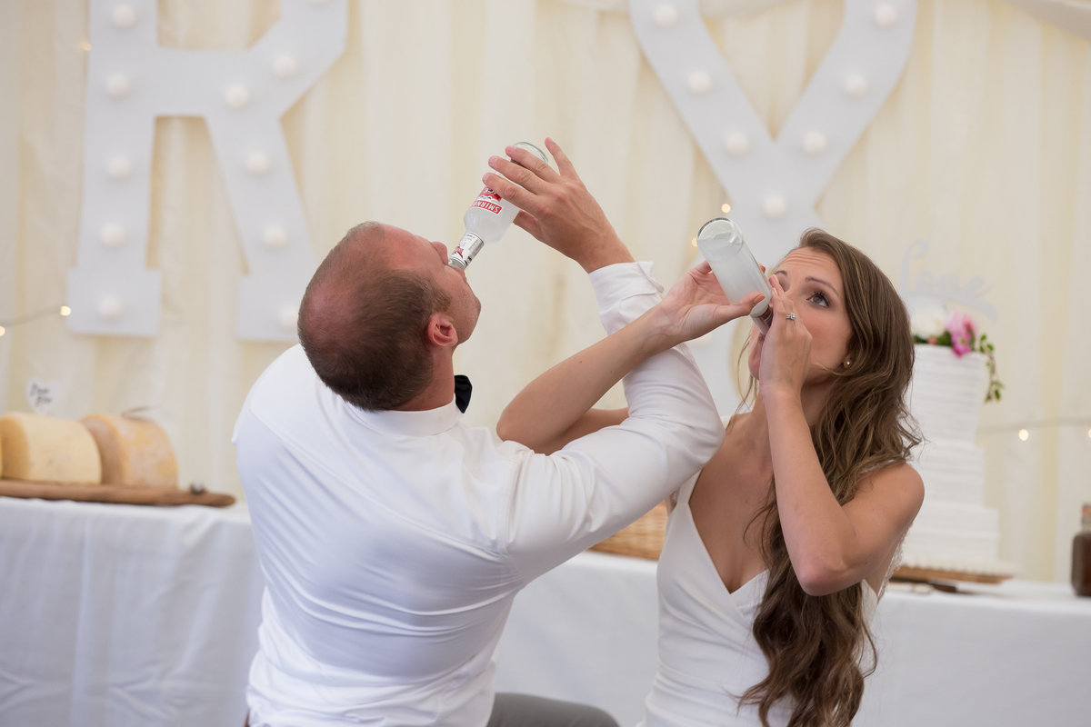 drinking games at wedding in devon