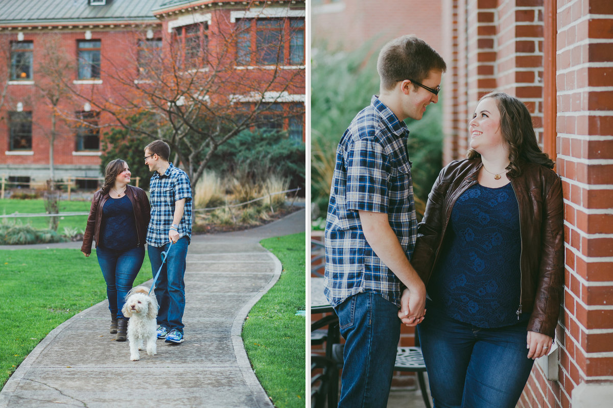 McMenamins Grand Lodge engagement session in Forrest Grove OR | Susie Moreno Photography