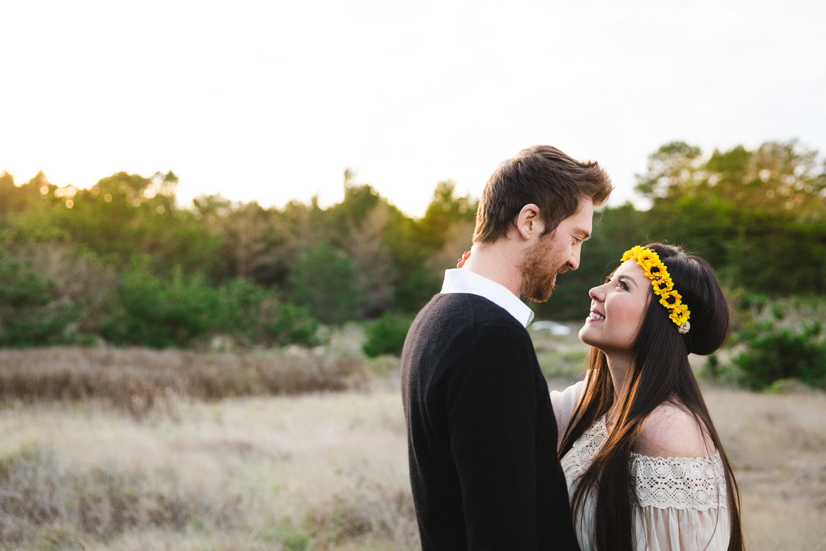 Point Lobos engagement photos