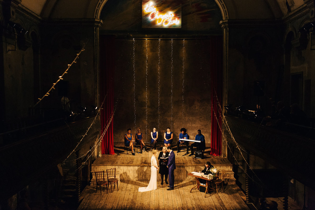 Wilton's Music Hall Wedding in London City.  Amazing venues in London