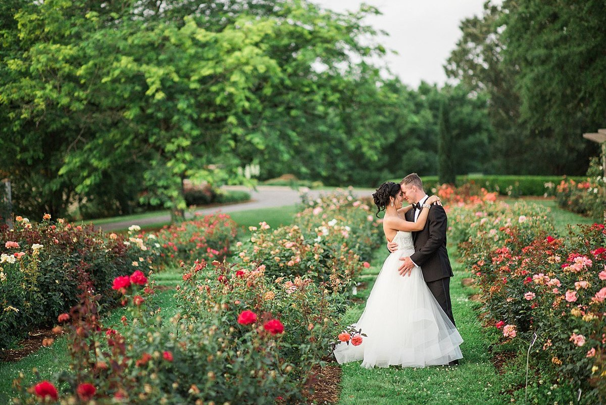 Filipino Mixed Couple Romantic Military Wedding Norfolk Botanical Gardens VA Andrew & Tianna Photography