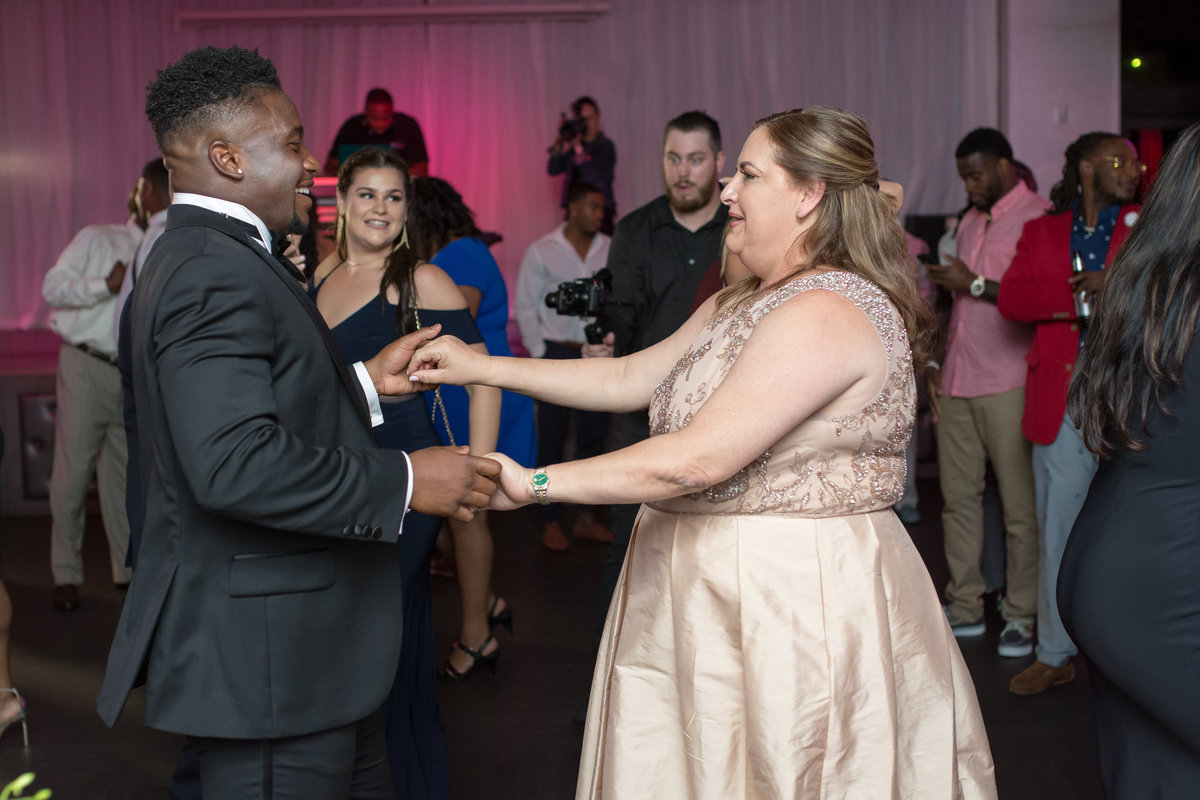 NFL Miami Dolphins Brandon Radcliff ShaKyra Radcliff Briza on the Bay Wedding Andrea Arostegui Photography-275
