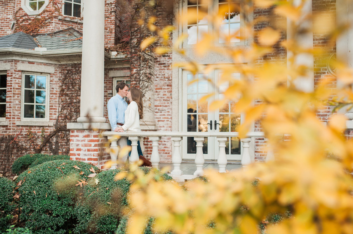 Bentonville and Fayetteville Engagement and wedding photographer, NWA wedding and engagement photographer, engaged couple in love kissing, engagement photo inspiration-22