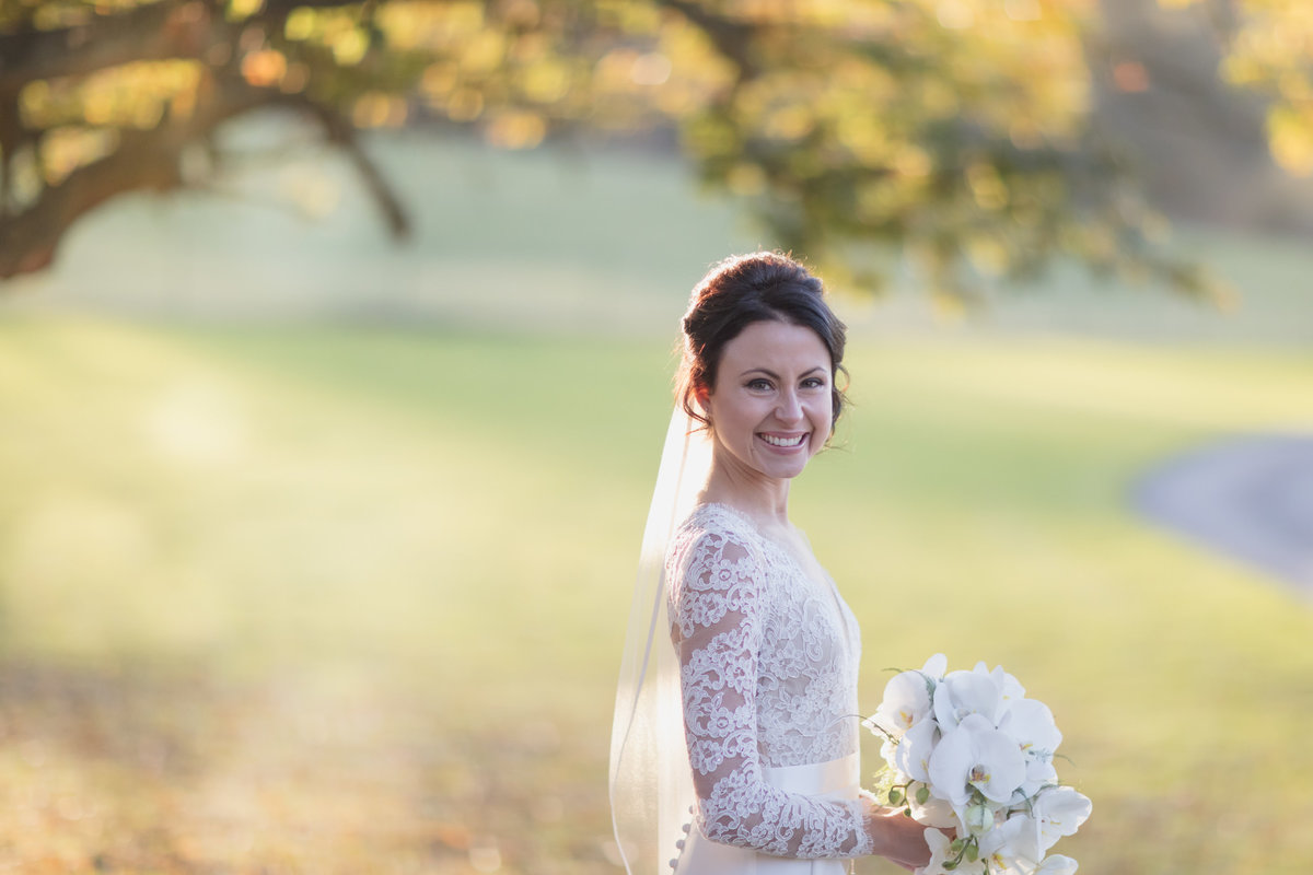 st audries park winter wedding somerset november bride