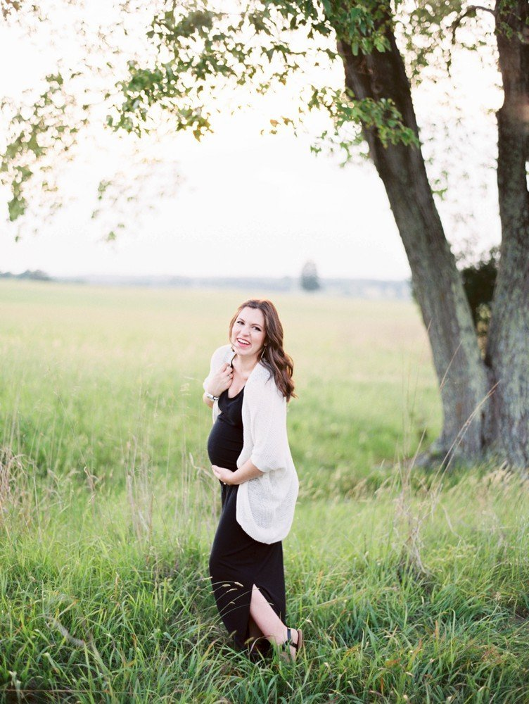 Rebekah Emily Photography Northern Virginia Photographer Film Maternity Session_0013