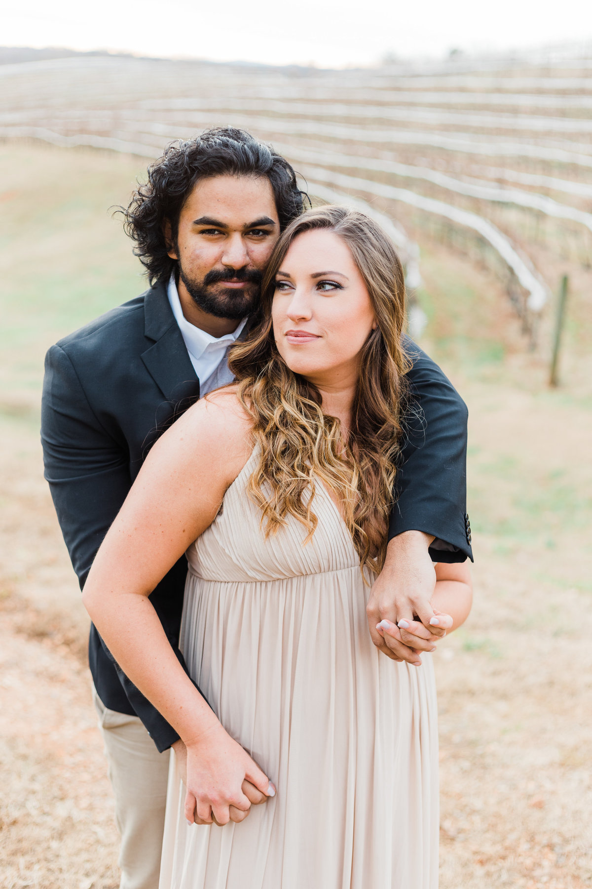 Motaluce Winery, Gainesville, GA Couple Engagement Anniversary Photography Session by Renee Jael-16
