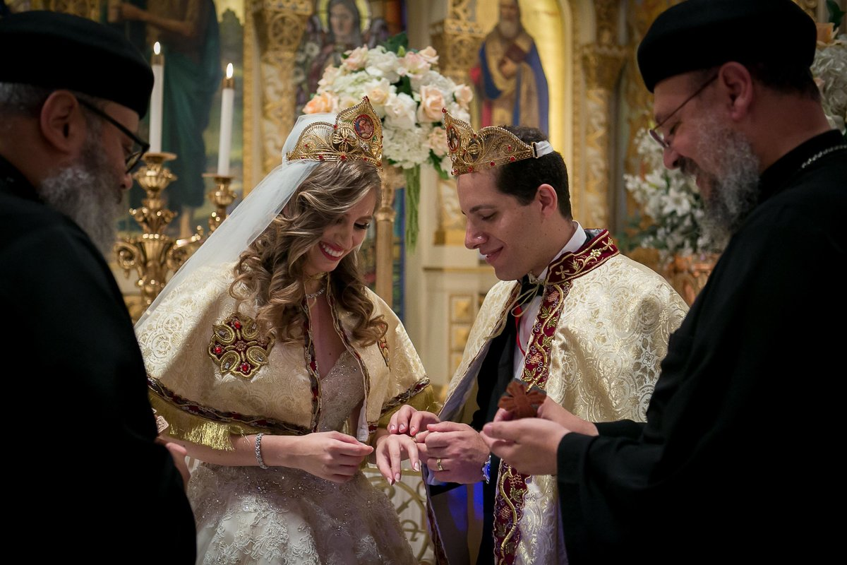 Saint Sophia Wedding Ceremony