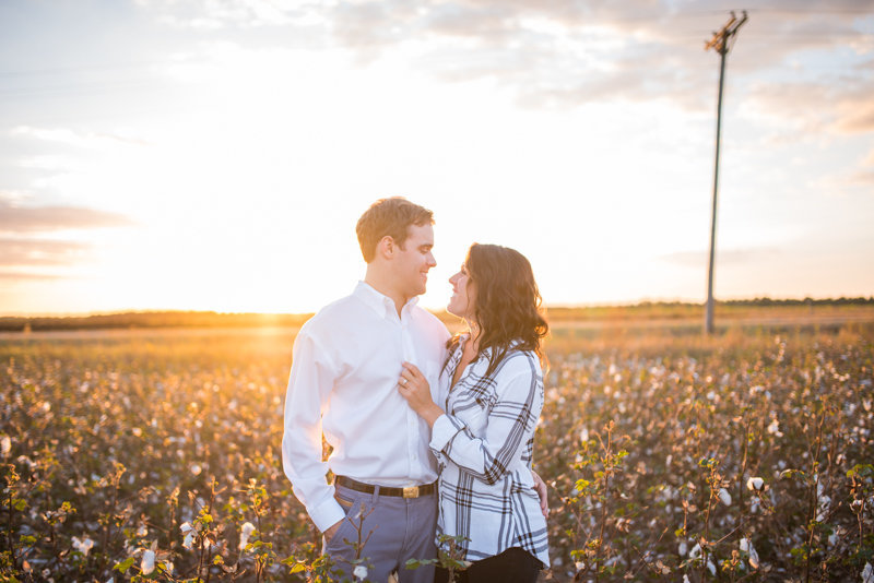 Sunset Engagement Session by Georgia Wedding Photographer Eliza Morrill-29