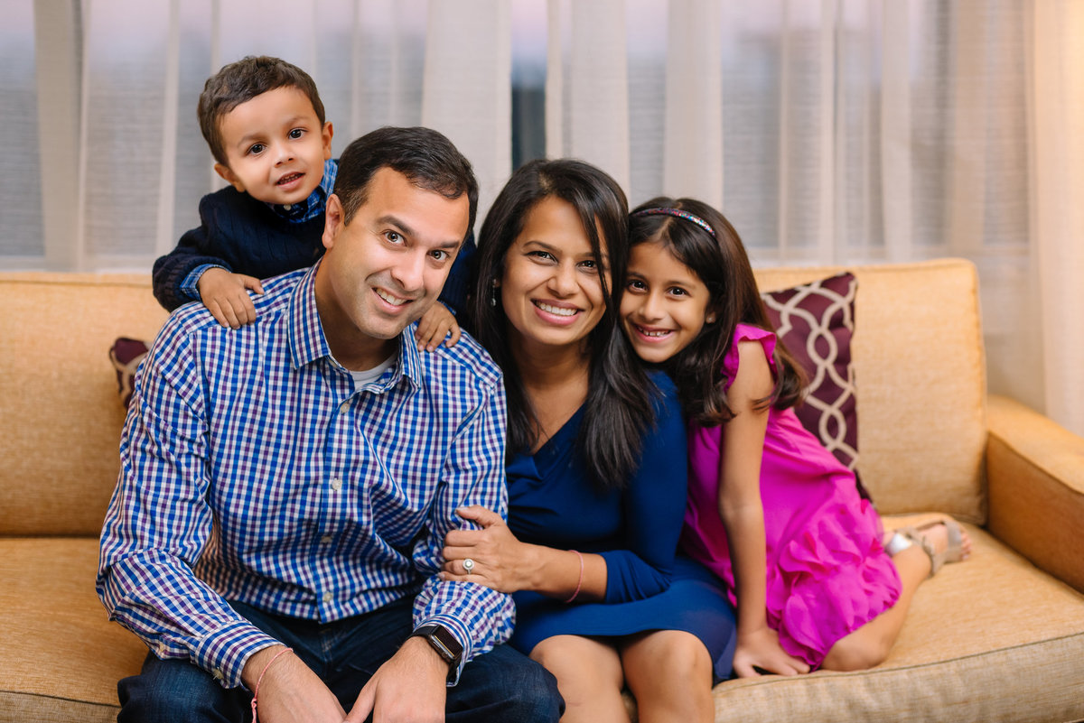 tysons corner family portraits indoor