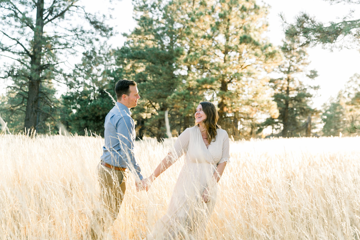 Karlie Colleen Photography - Flagstaff Arizona Engagement Photographer - Britt & Josh -118