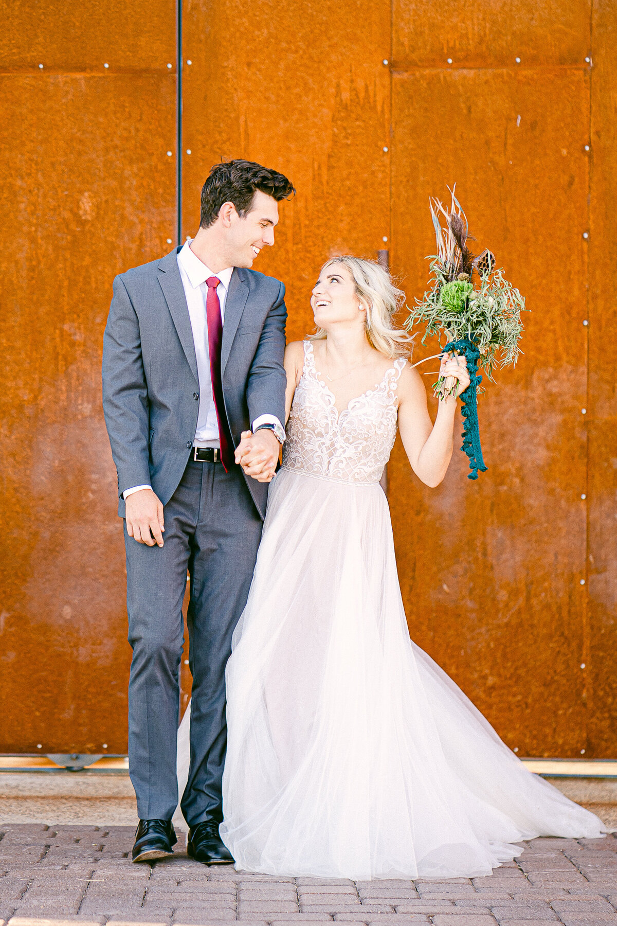 Phoenix Wedding Photographer - Paseo Wedding In Summer 2020 - Atlas Rose Photography AZ01