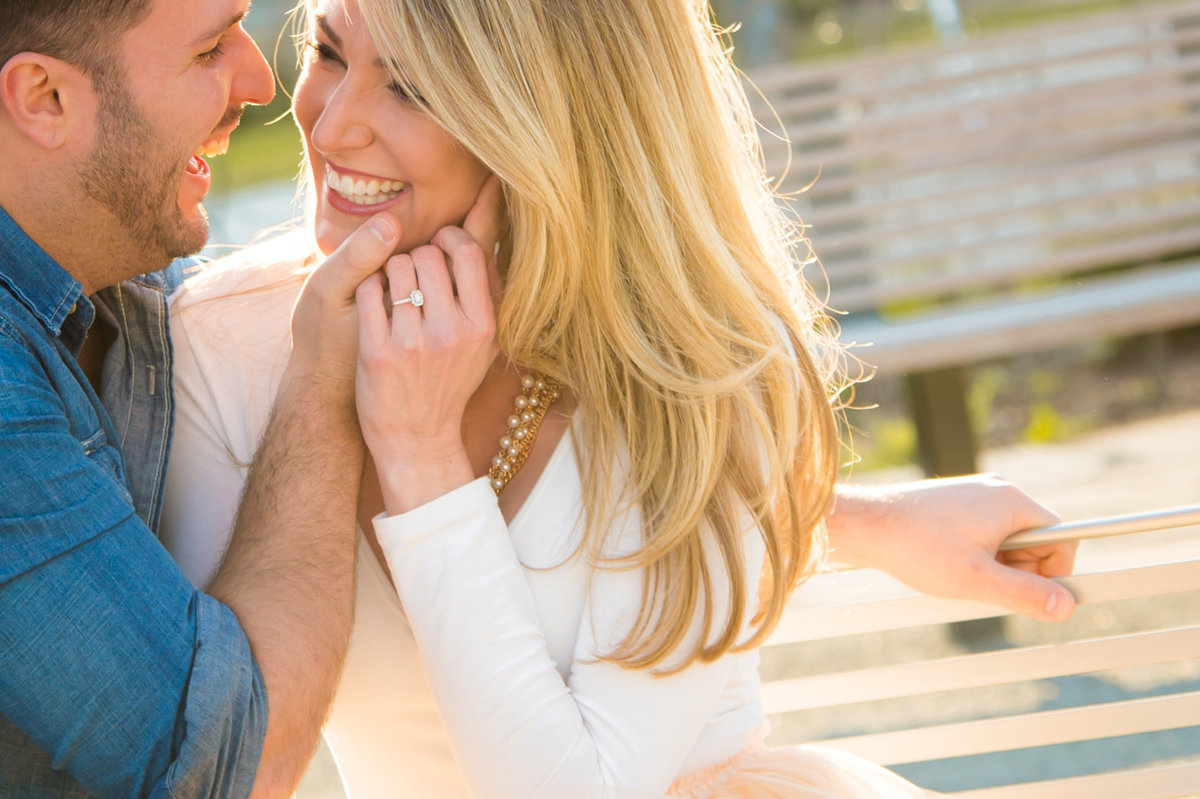 Nashville spring engagement session