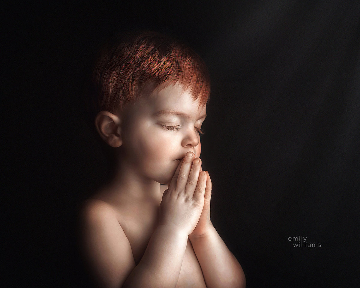 indoor child portraits