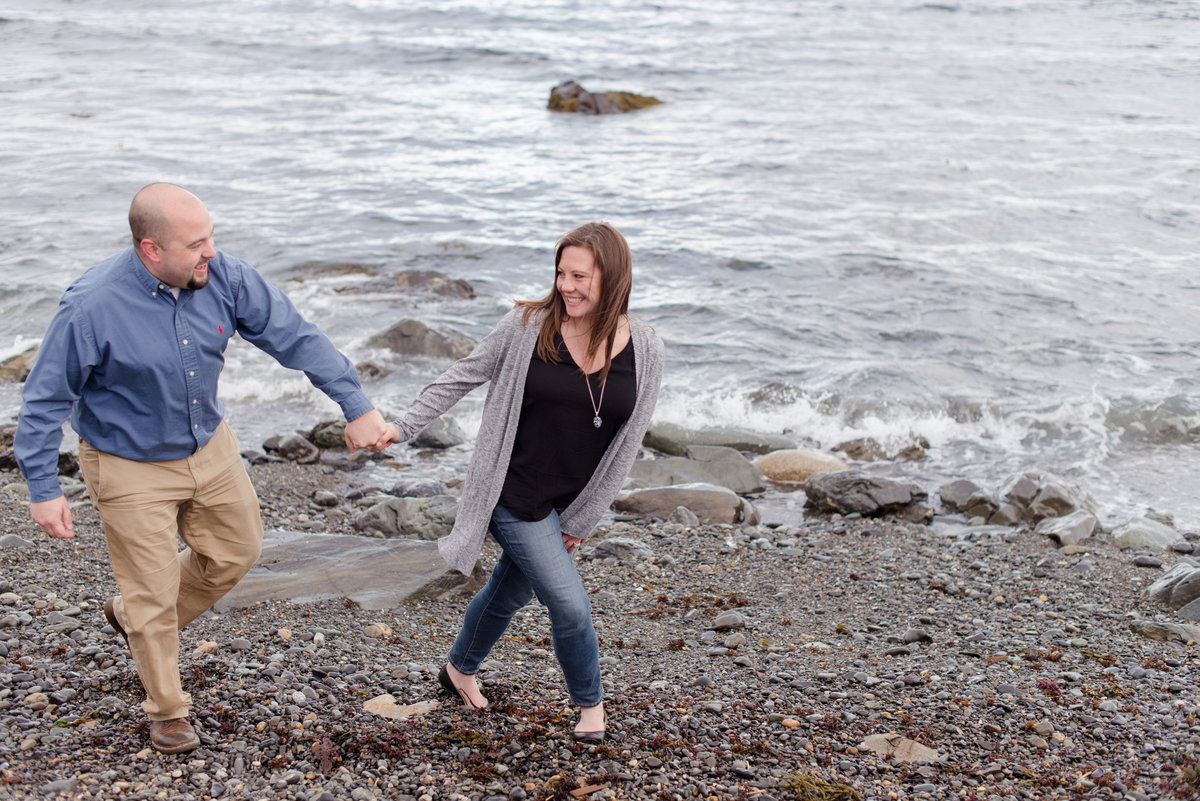 kennebunk engagement session
