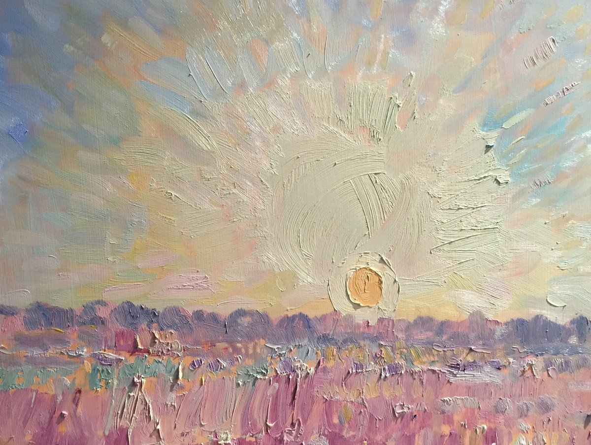 Portrait of the Sun 18x24 oop 3,500