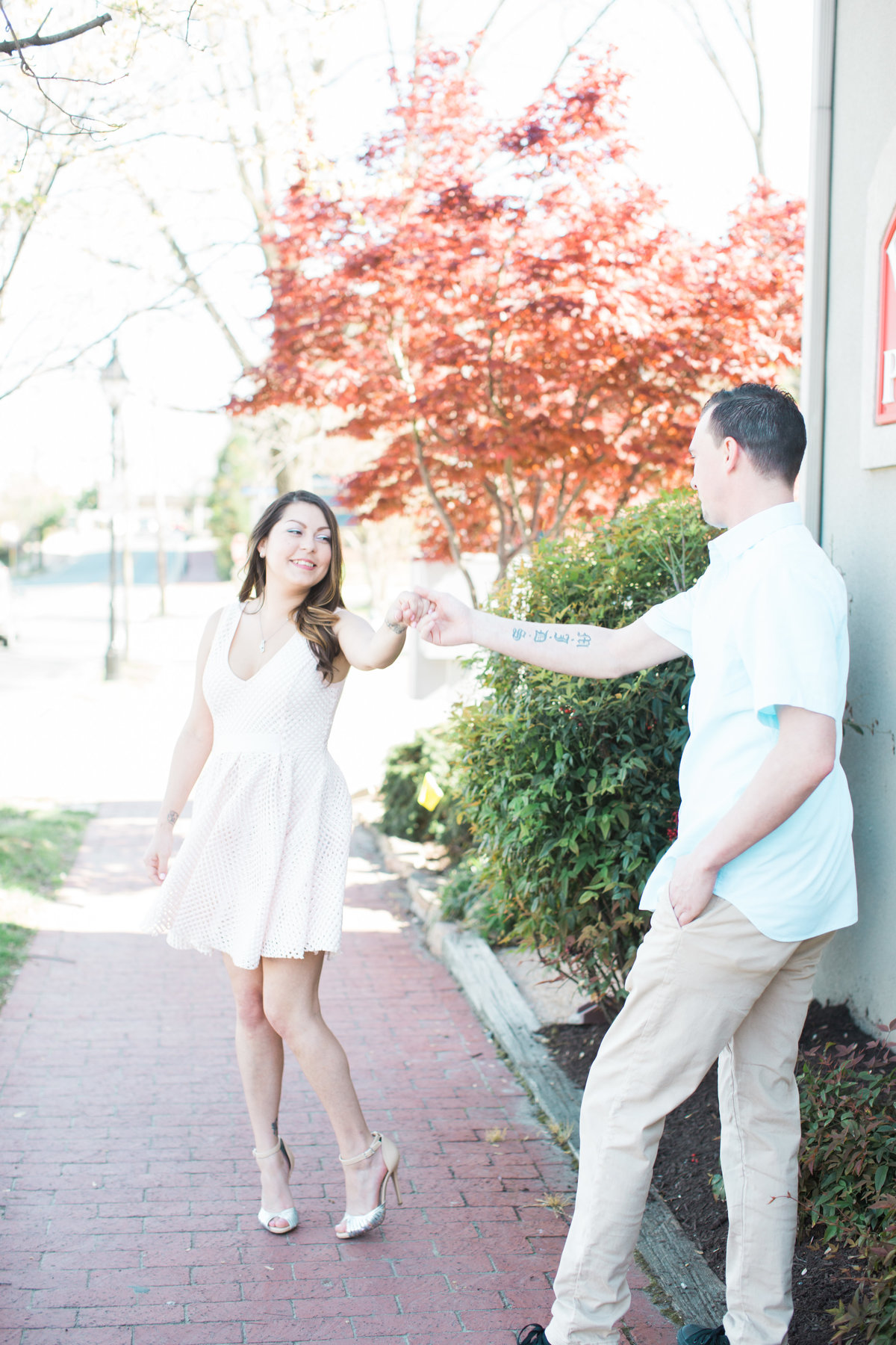 Bri & Mylen Engagement Session - Downtown Fredericksburg Virginia - Virginia Engagement and Wedding Photographer - 1-46