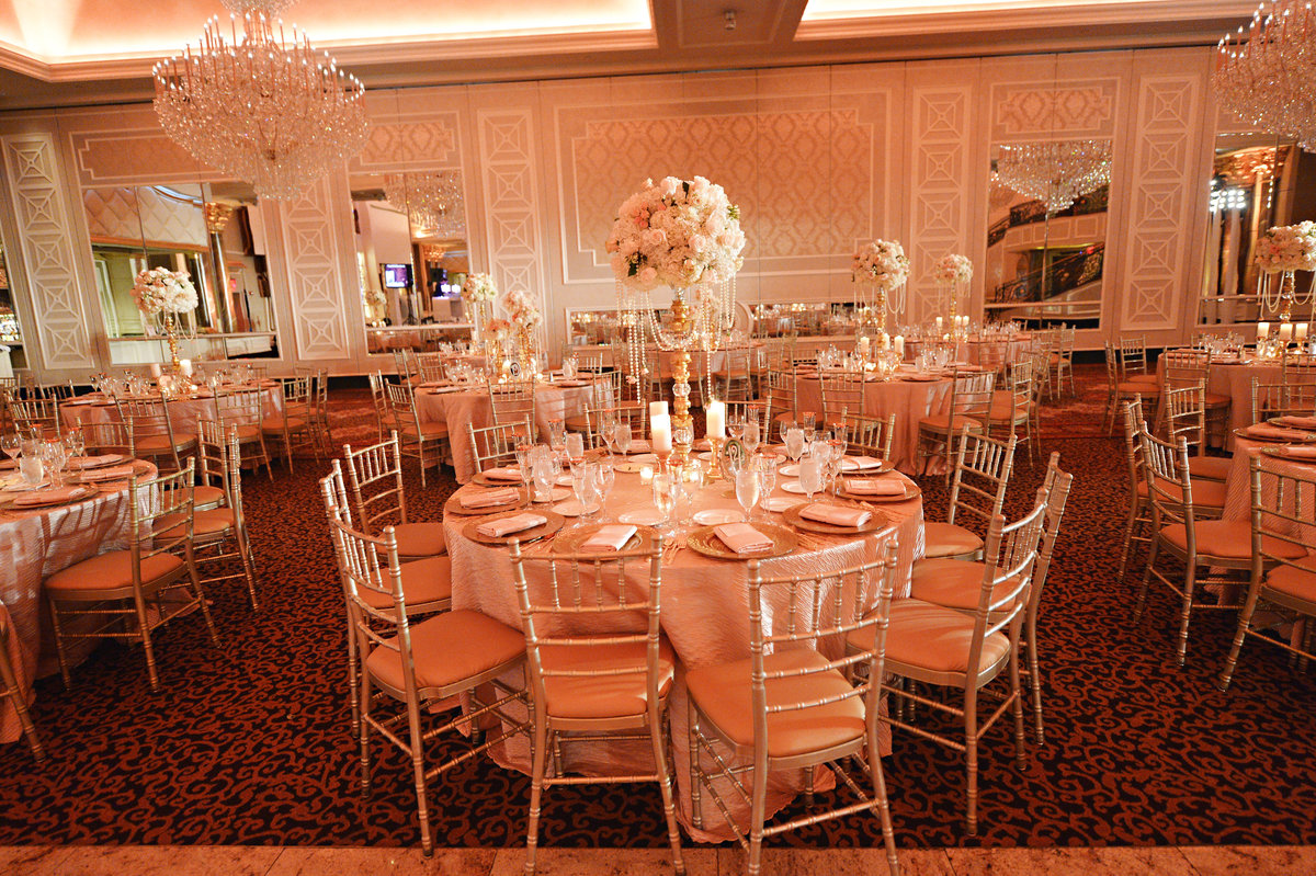blush pink gold ivory vintage wedding venetian new jersey event designer 18