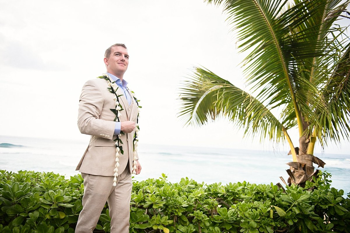 Sunset Beach Oahu Hawaii Wedding_86