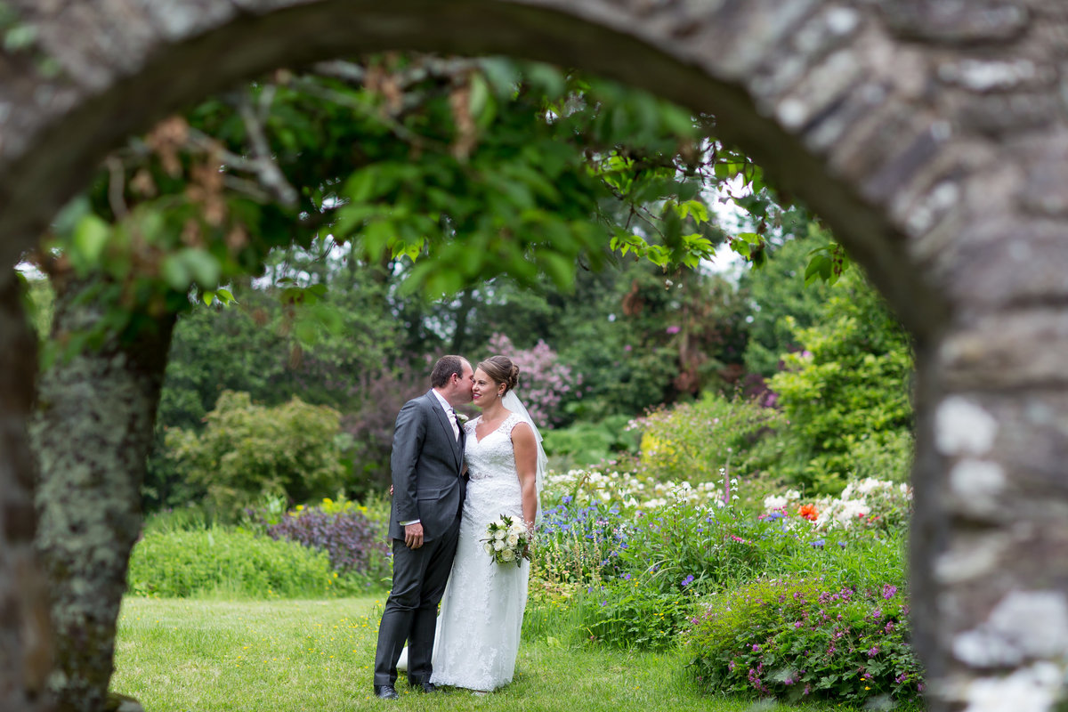north devon village wedding