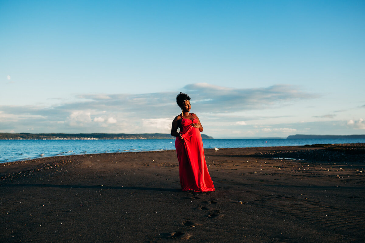 Camano Island Washington Maternity Photography-16