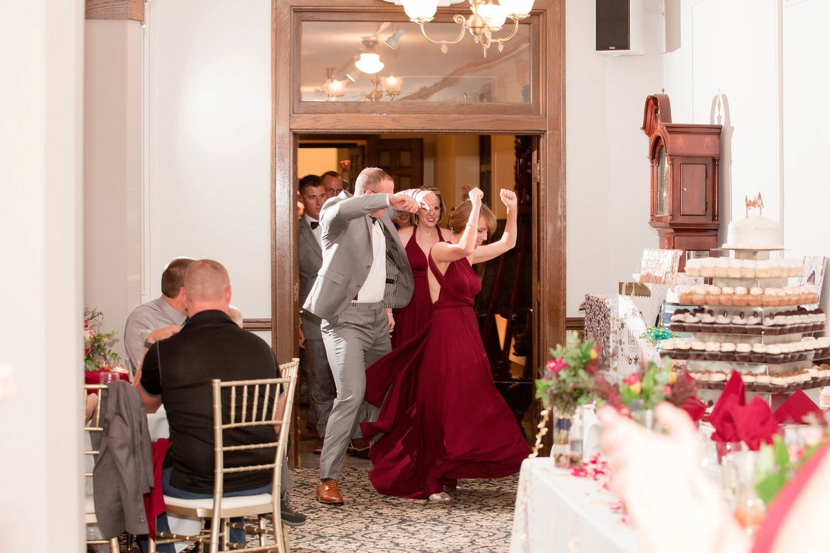 Burgundy Nazareth Hall Fall Wedding by Toledo and Detroit Based Wedding Photographers Kent & Stephanie Photography_0791
