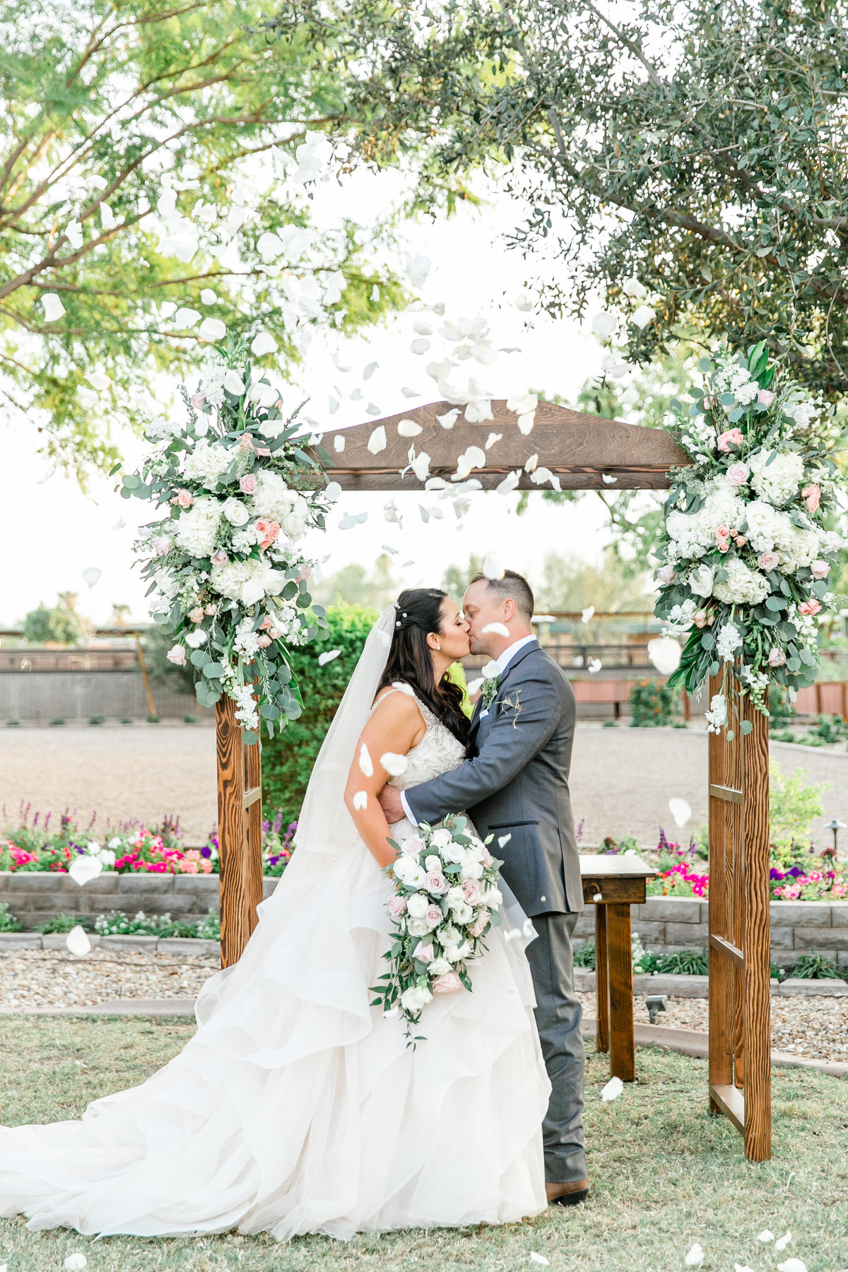 Karlie Colleen Photography - Glendale Arizona Backyard ranch wedding - Meghan & Ken-457