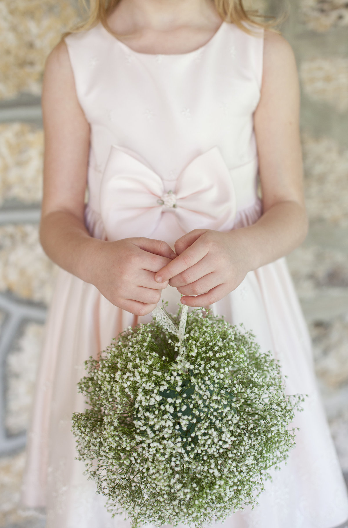 baby's breath flower girl