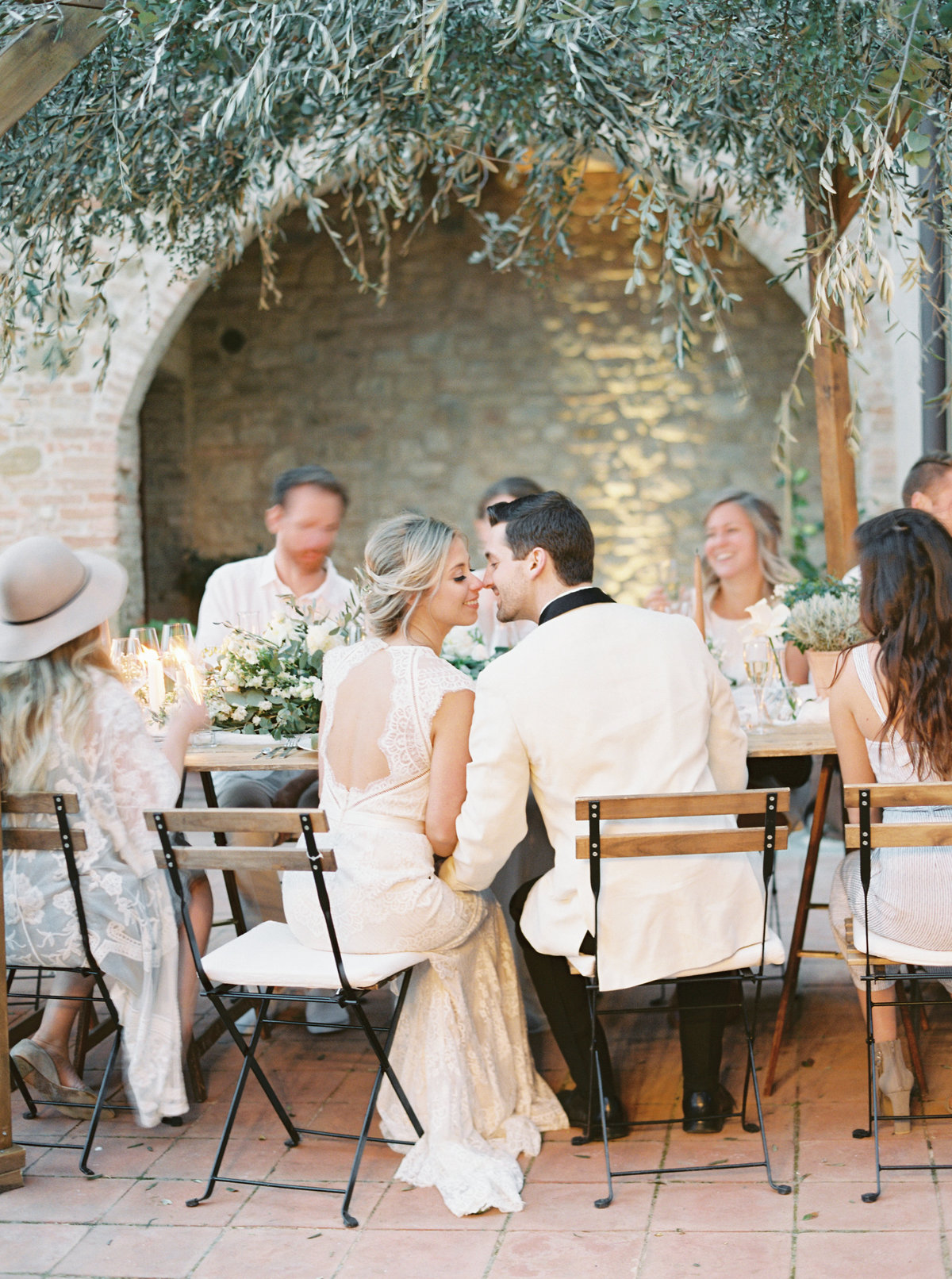 Tuscany Wedding Erica Nick - Lauren Fair Photography366