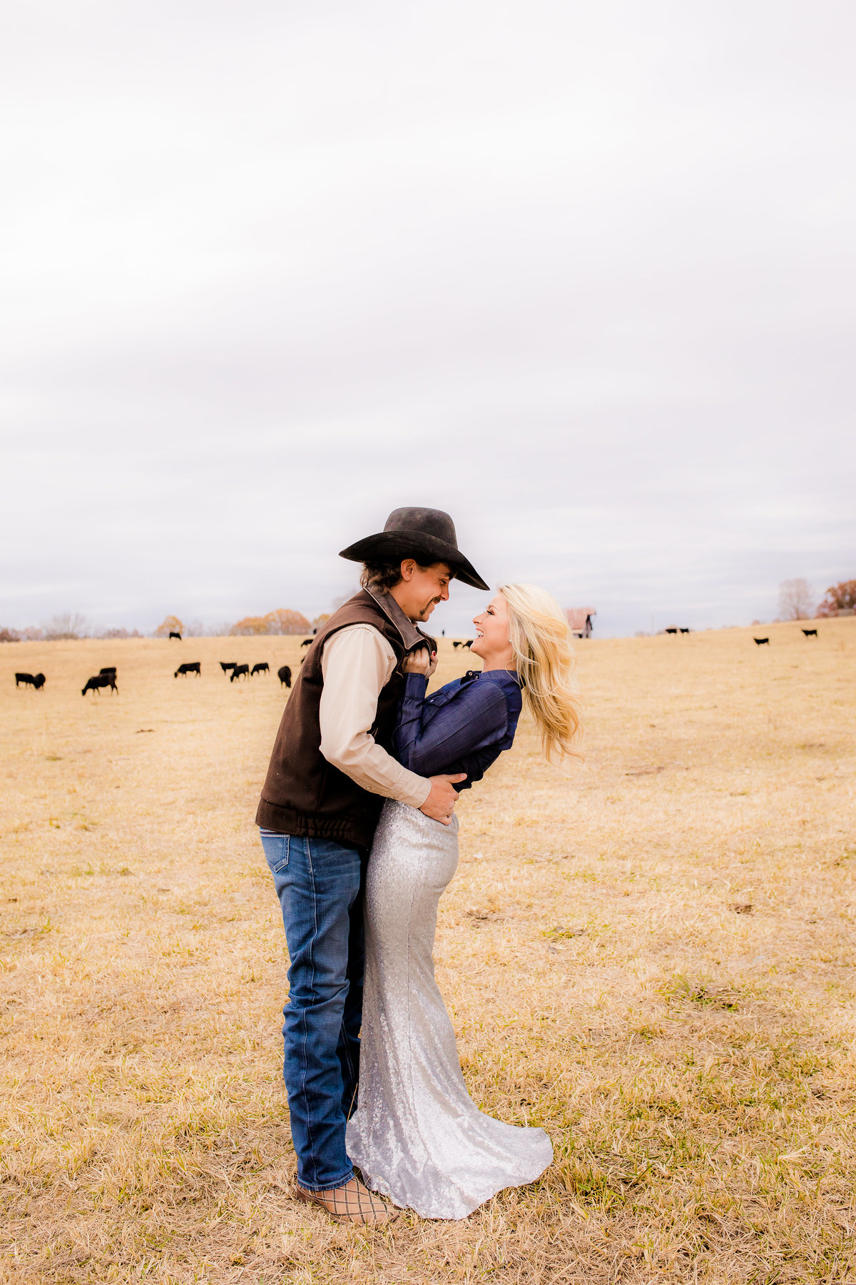 Cowboys Bride - Nashville Weddings - Nashville Wedding Photographer - Nashville Wedding Photographers - Engagement - Ranch Weddings - Ranch engagement Photos - Cowboys and Belles - Denim - Wedding Photographer003