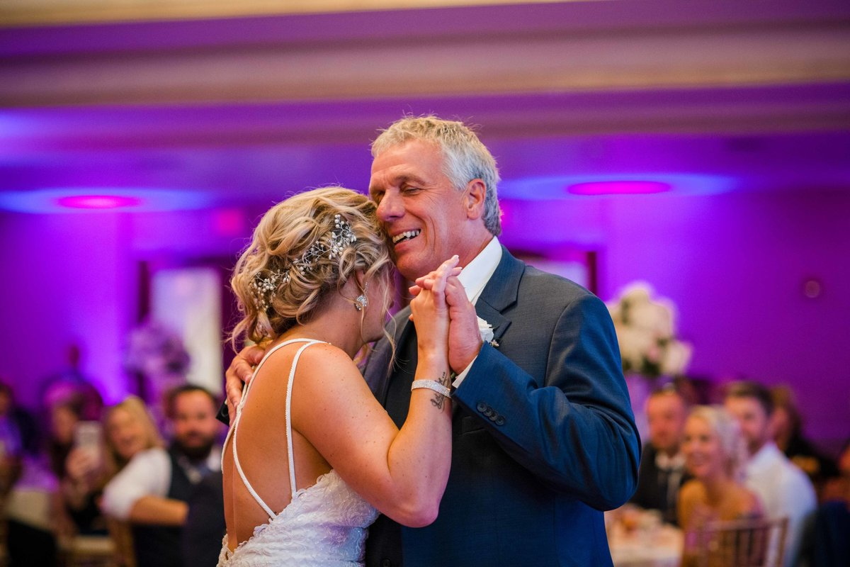 31 father daughter dance at waters edge wedding