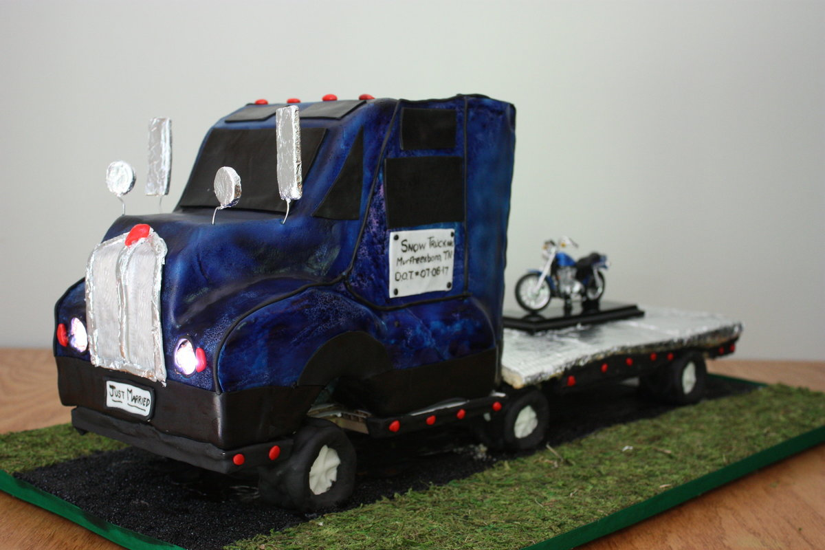 Truck Cake Oh Crumbs Bakery