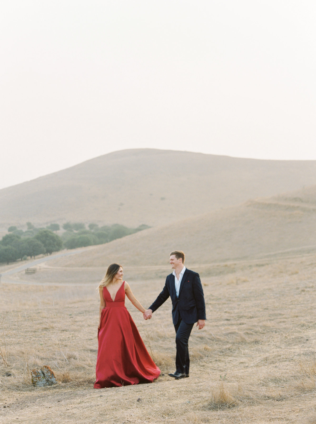Kirsten + Peter Coyote Hills Regional Park Engagement Session Sneak Peeks - Cassie Valente Photography 0071