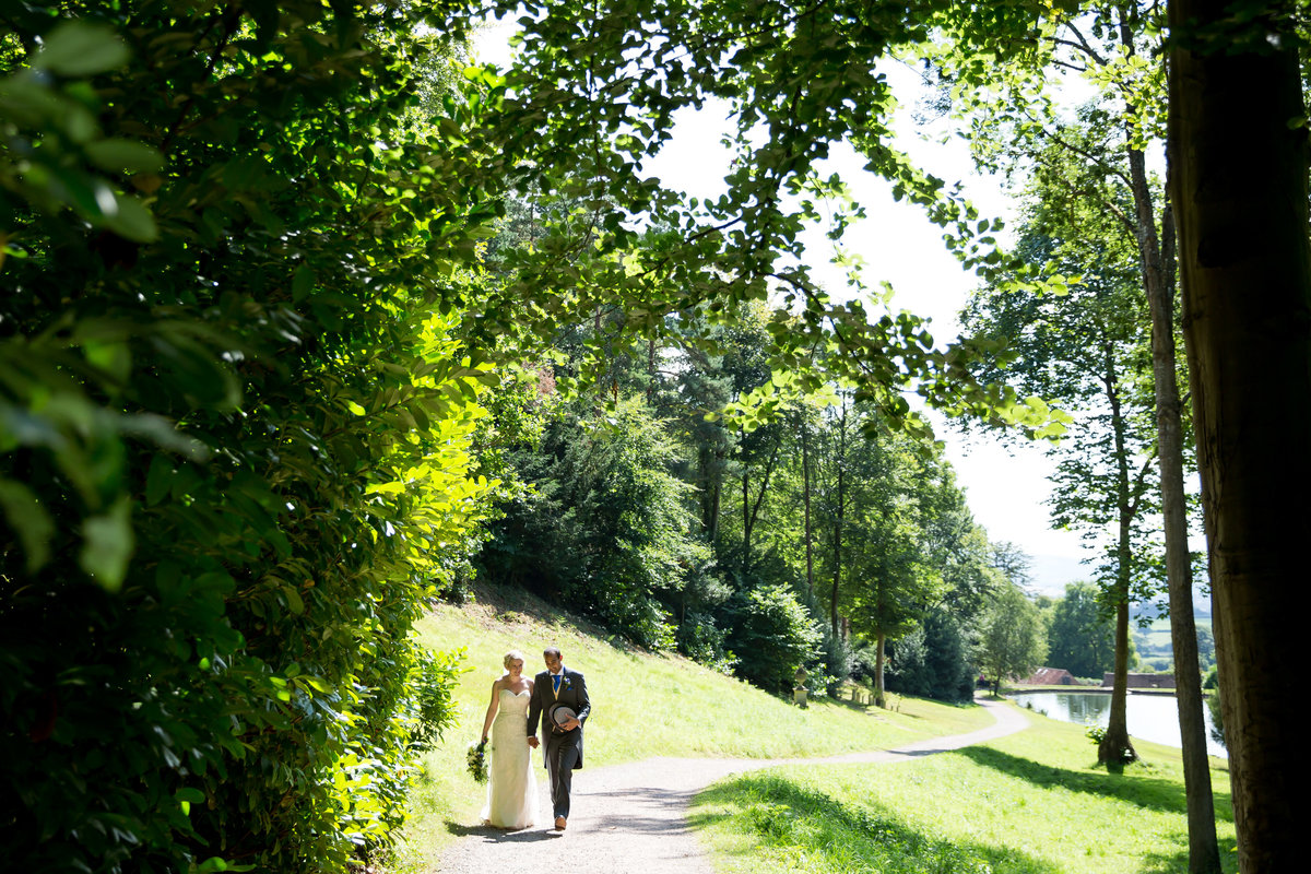 august wedding at hestercombe gardens