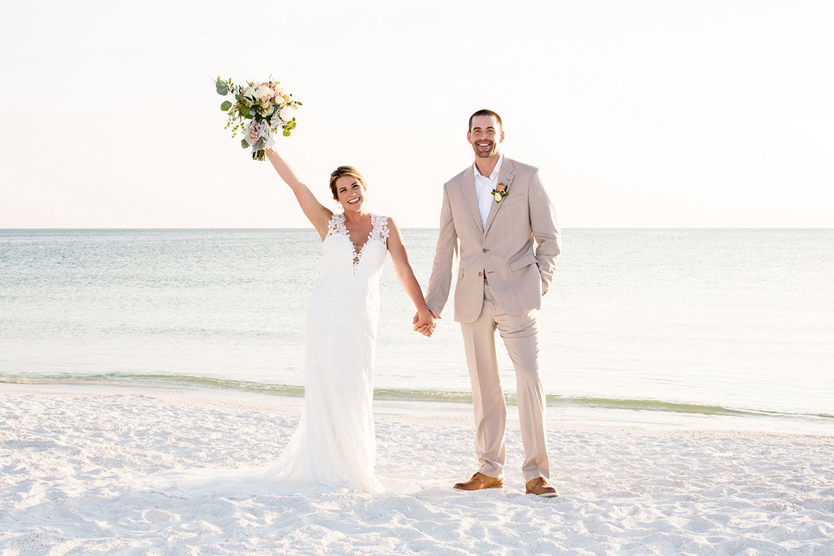 hilton marco island beach wedding