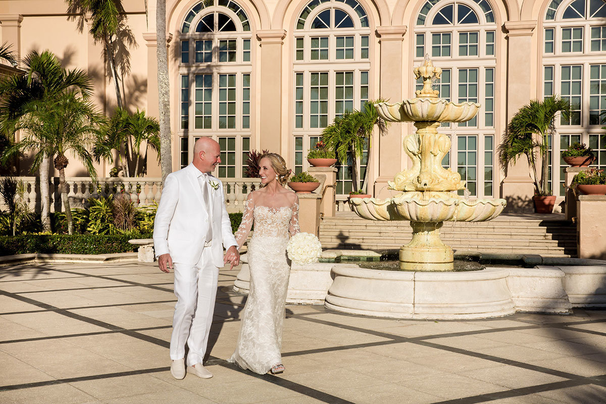 ritz carlton naples wedding photo