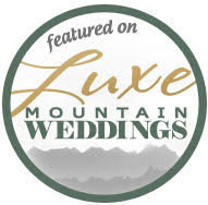 Luxe Mountain Weddings Badge