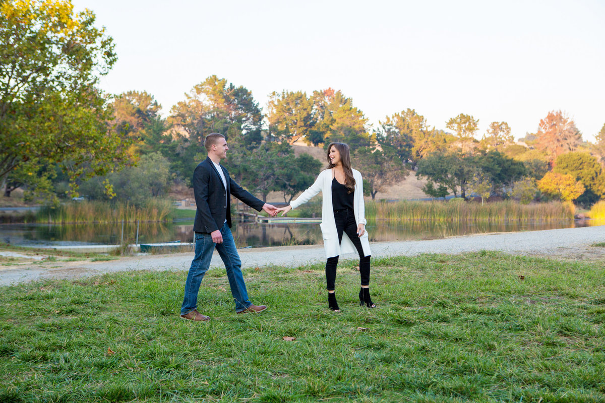Los Altos Hills in the Bay Area, California Engagement and Wedding Photographer