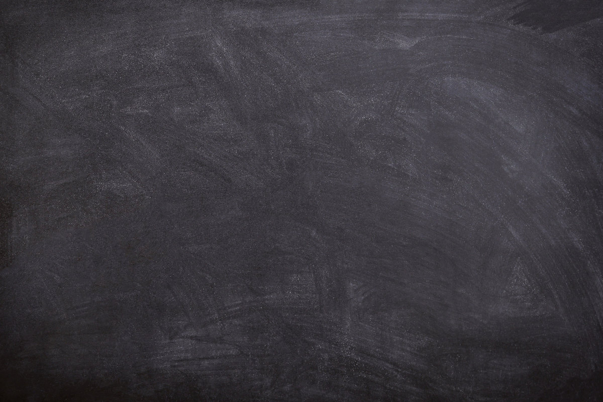 Chalkboard Black blurred