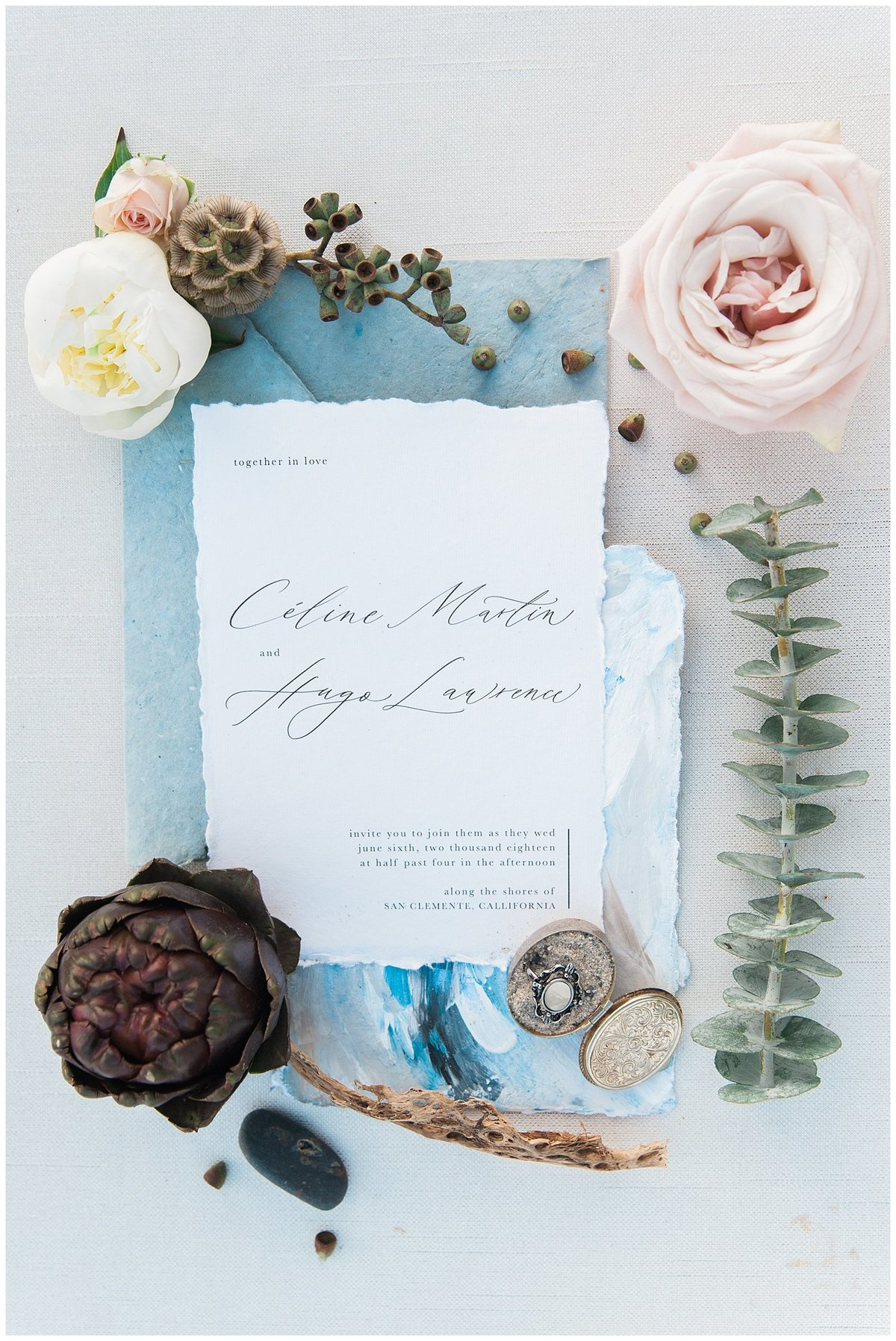 san clemente beach wedding elopement whimsical dreamy soft light socal photo010