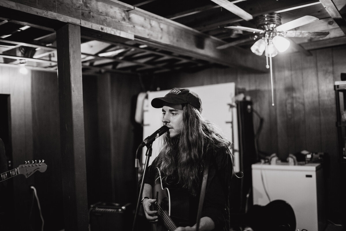 Foxwarren's Andy Shauf during a jam session