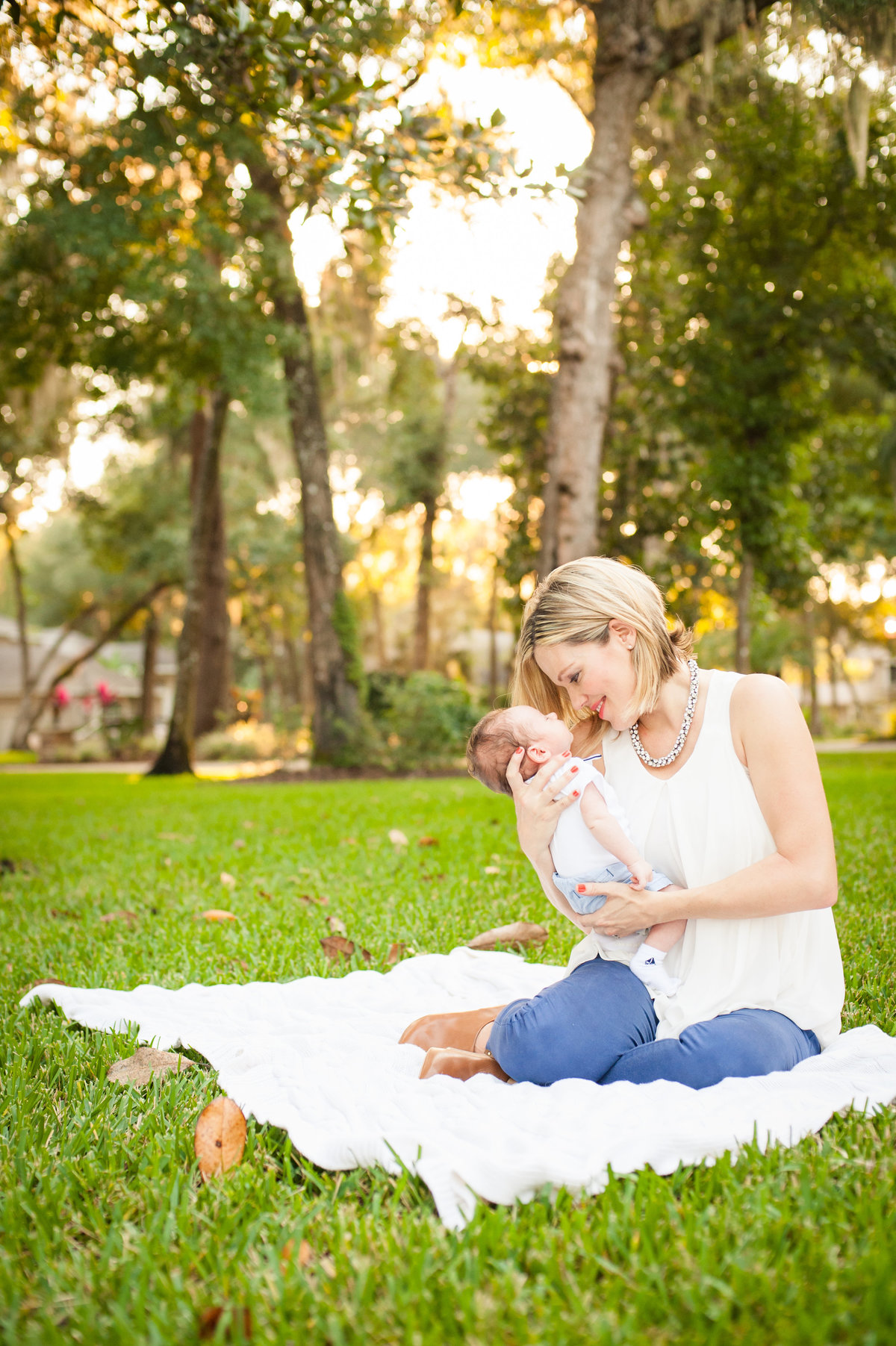 Ormond Beach newborn lifestyle photography